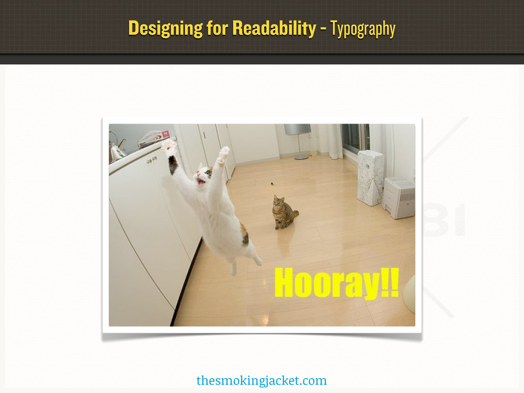 Designing for Readability - Typography thesmoki...