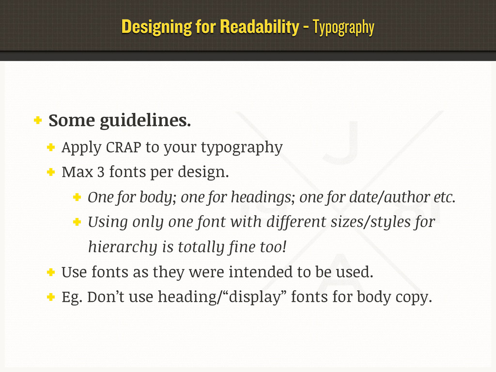 Designing for Readability - Typography Some gui...
