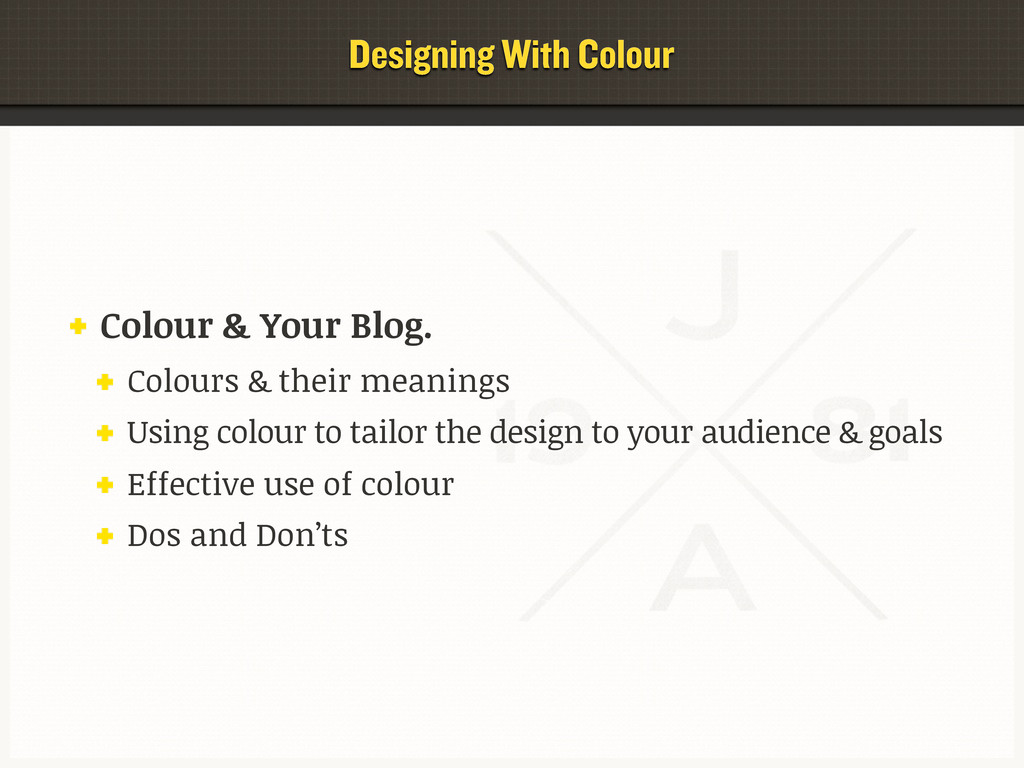 Colour & Your Blog. Colours & their meanings Us...