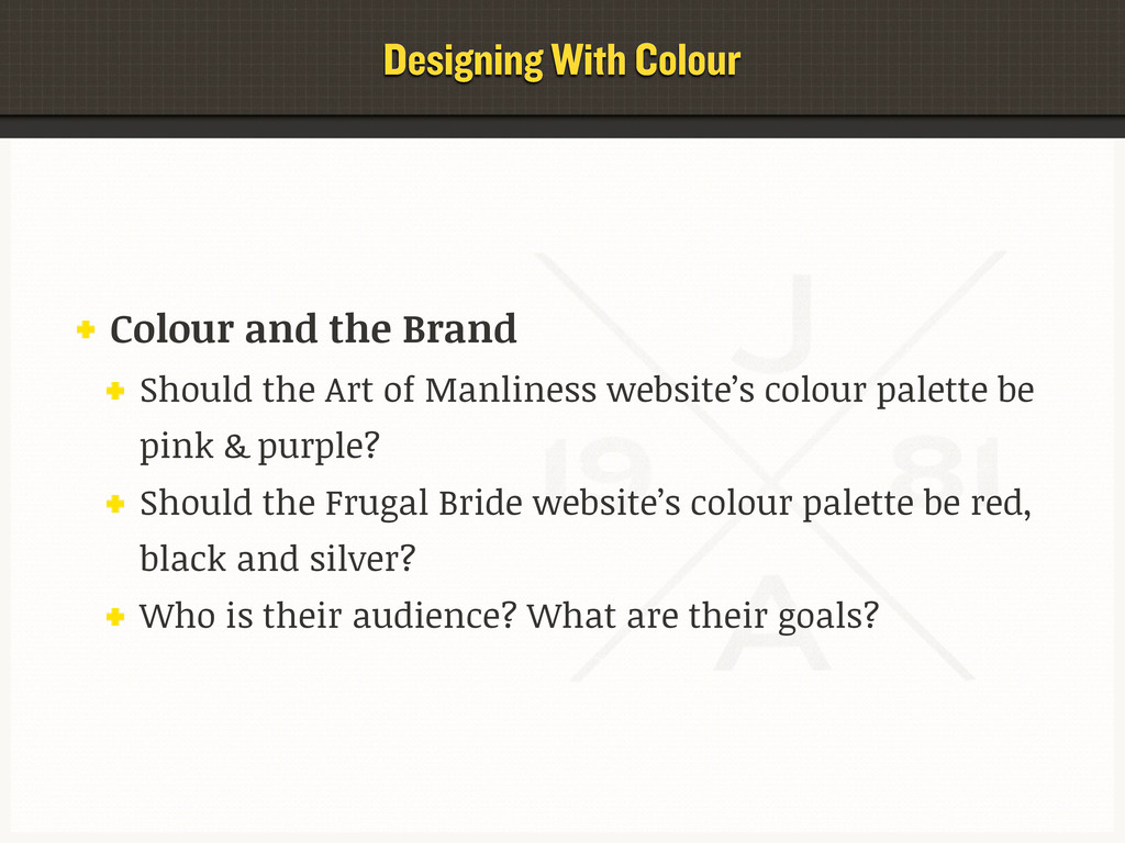 Designing With Colour Colour and the Brand Shou...