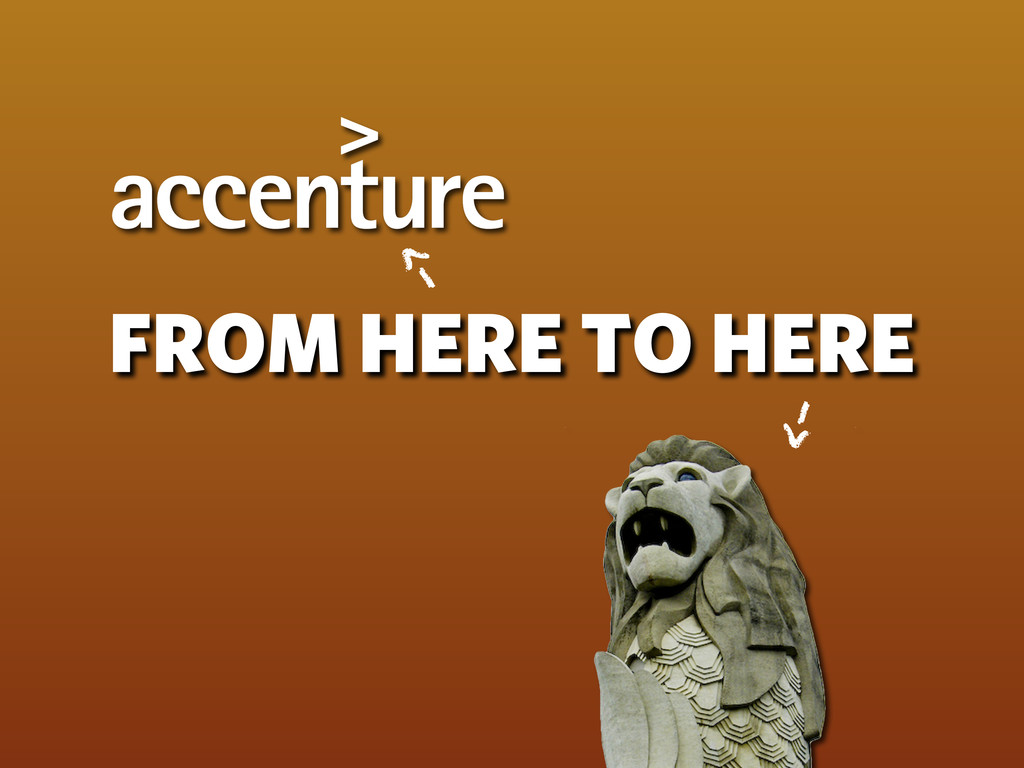 FROM HERE TO HERE -> ->