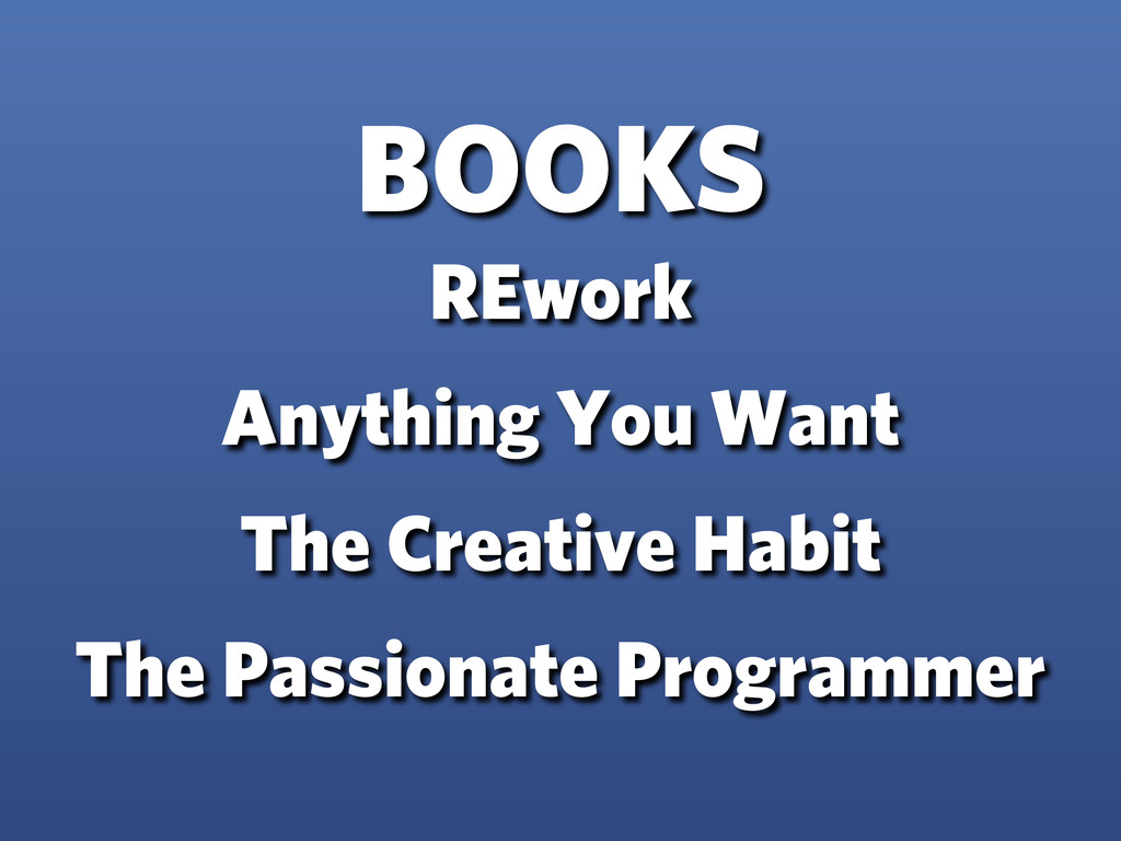 BOOKS REwork Anything You Want The Creative Hab...