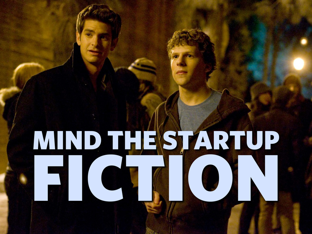 MIND THE STARTUP FICTION