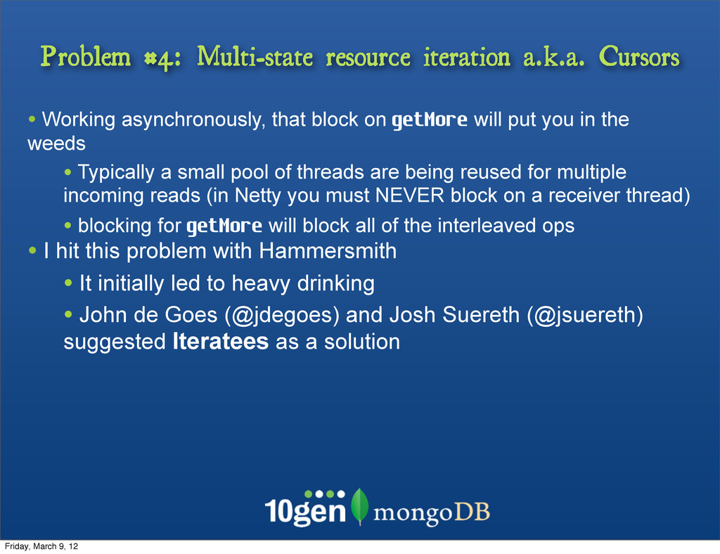 Problem #4: Multi-state resource iteration a.k....