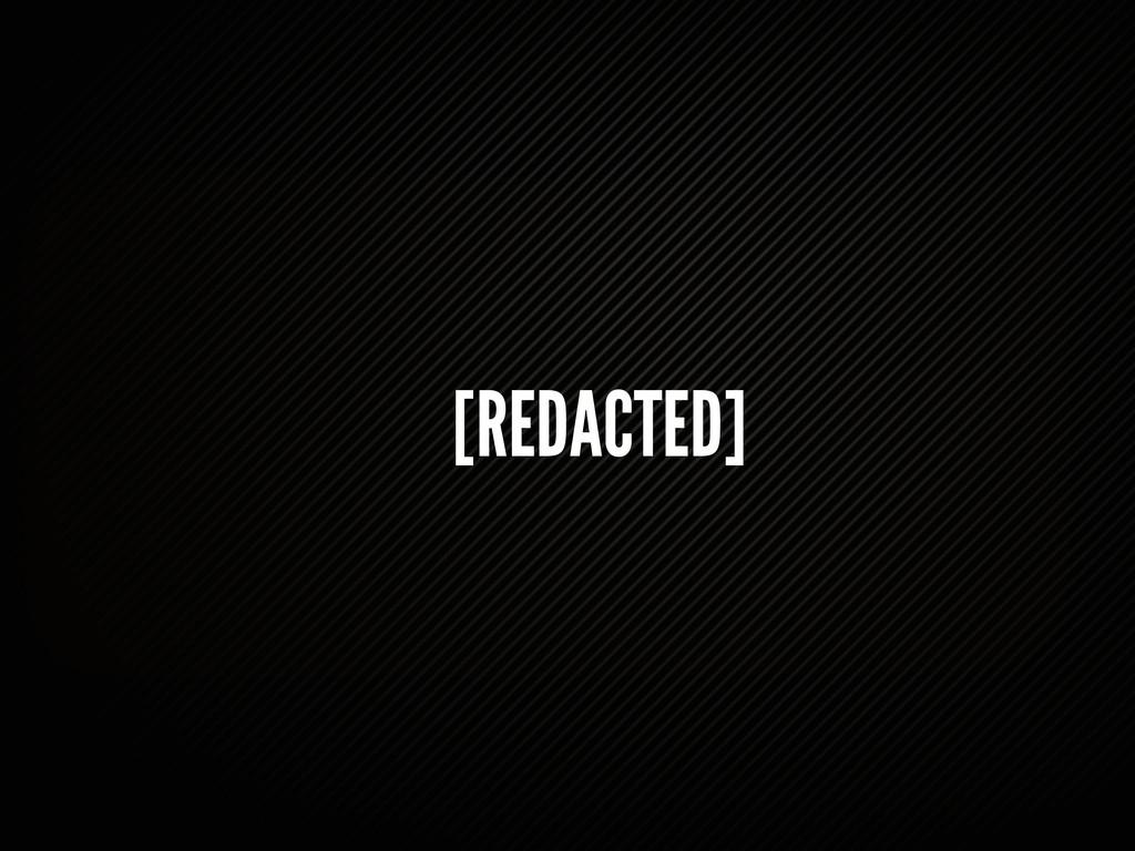 [REDACTED]