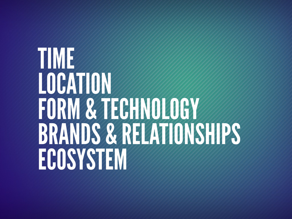 TIME LOCATION FORM & TECHNOLOGY BRANDS & RELATI...