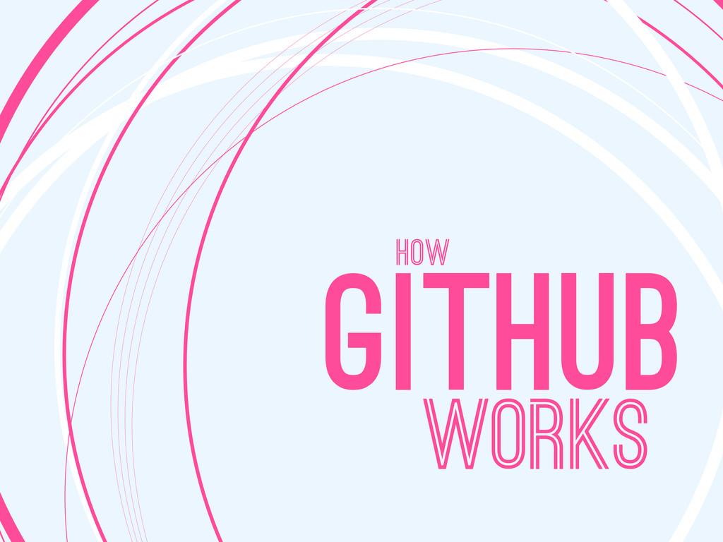 HoW WORKS GITHUB