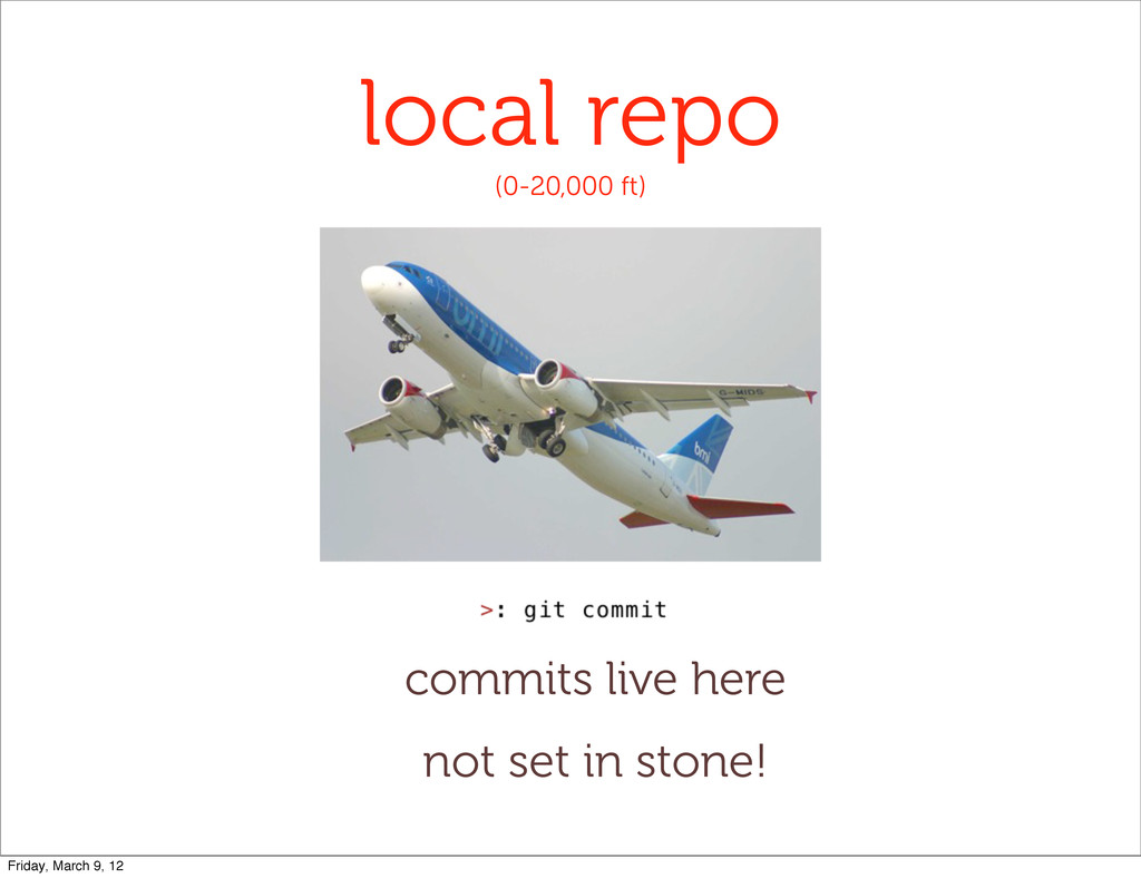 local repo (0-20,000 ft) commits live here not ...