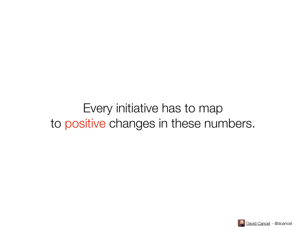 David Cancel - @dcancel Every initiative has to...