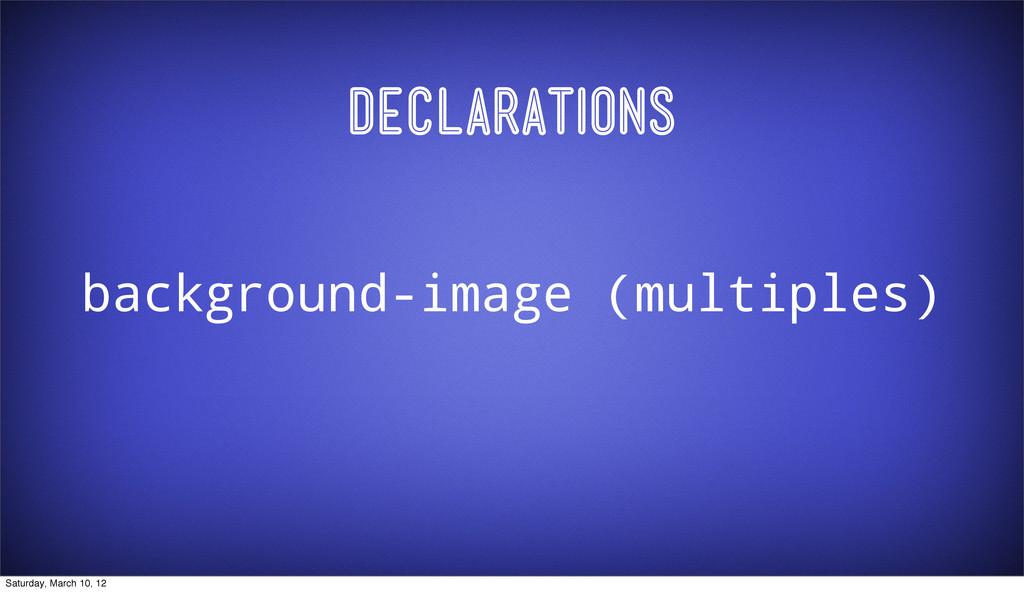 Declarations background-image (multiples) Satur...