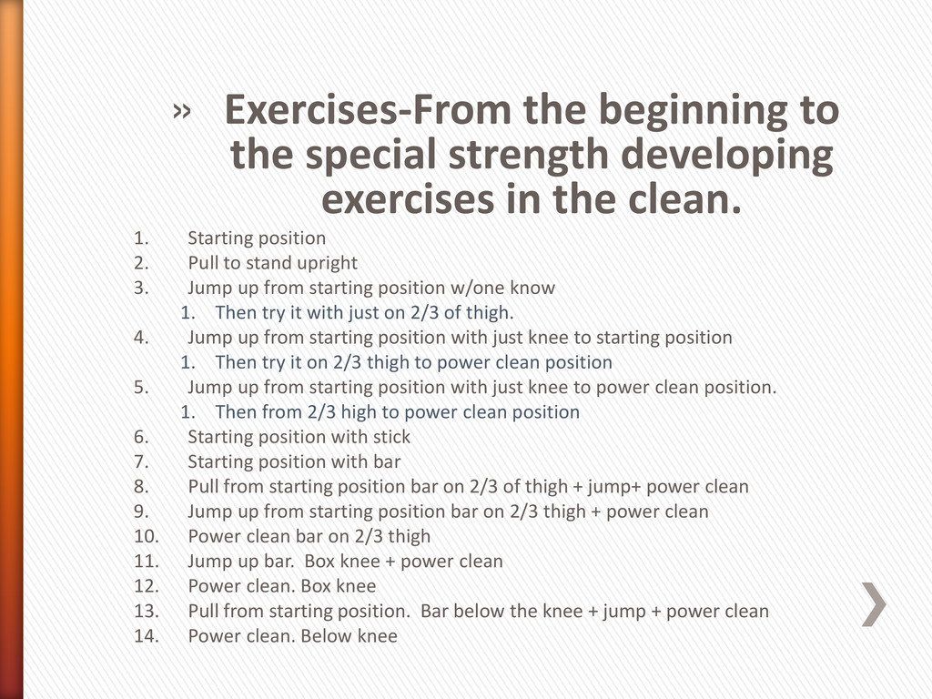 » Exercises-From the beginning to the special s...