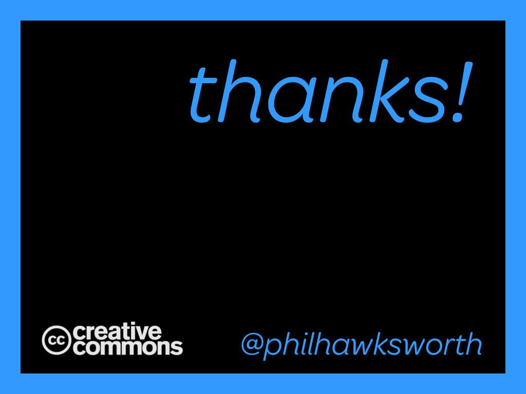 @philhawksworth #excessiveenhancement thanks! @...