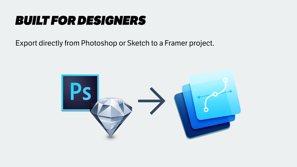 BUILT FOR DESIGNERS ➡ Export directly from Phot...
