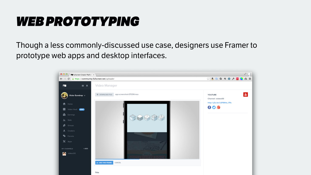WEB PROTOTYPING Though a less commonly-discusse...