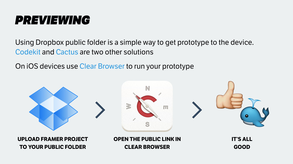 PREVIEWING Using Dropbox public folder is a sim...