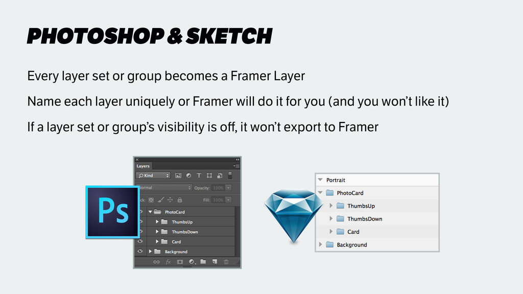 PHOTOSHOP & SKETCH Every layer set or group bec...