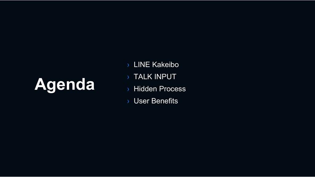 Agenda › LINE Kakeibo › TALK INPUT › Hidden Pro...