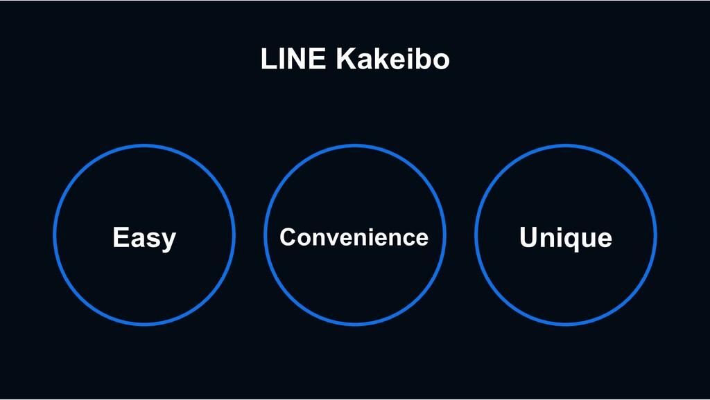 LINE Kakeibo Convenience Easy Unique