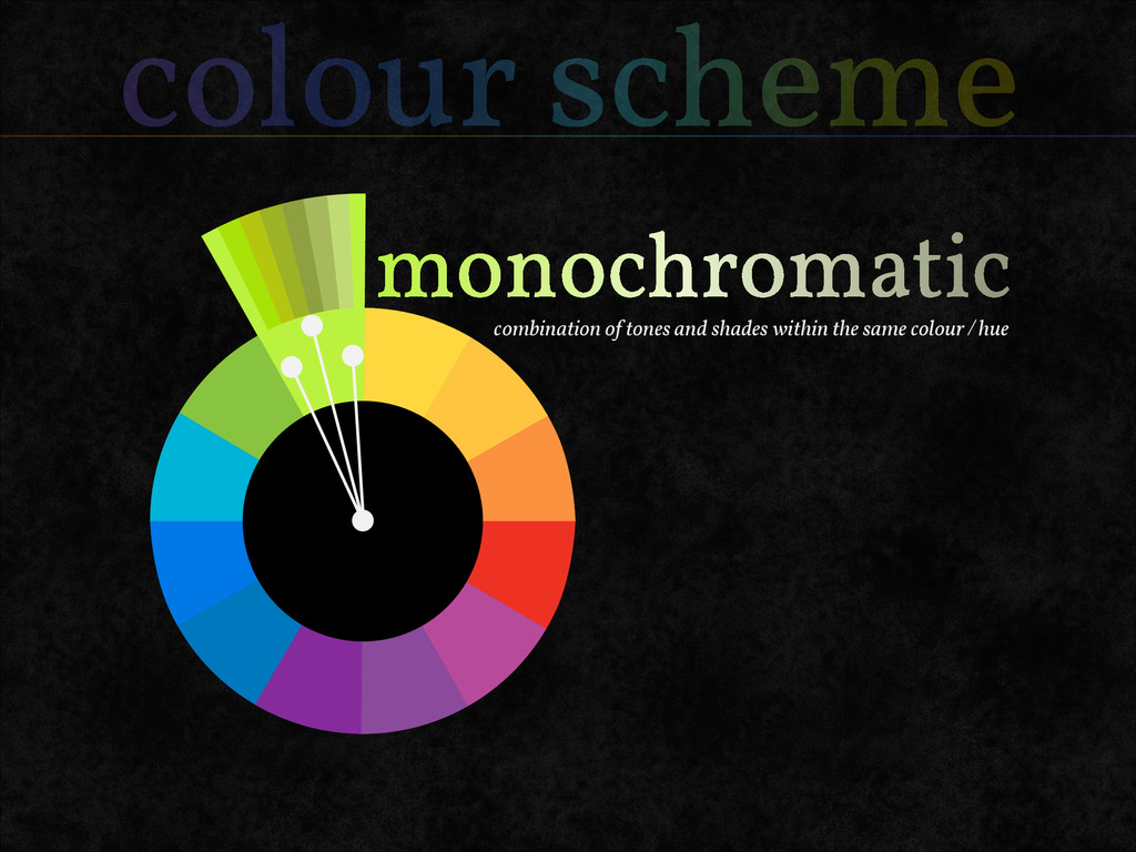 colour scheme combination of tones and shades w...