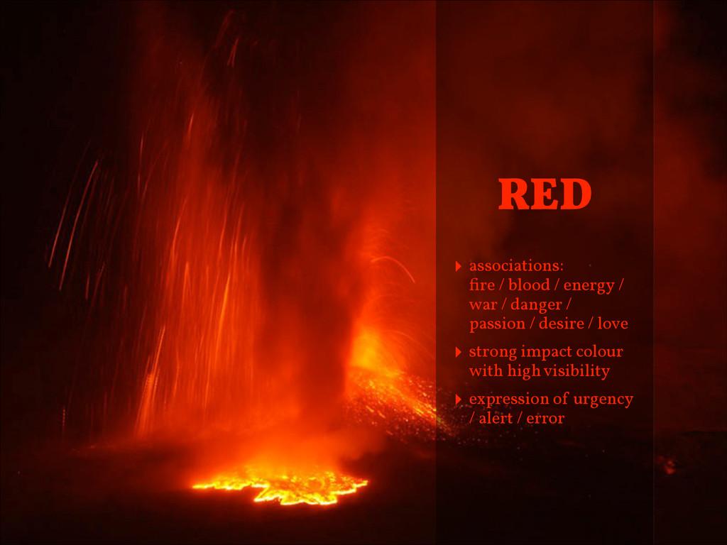‣ associations: fire / blood / energy / war / d...