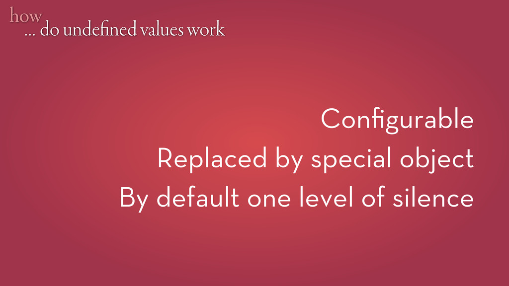 … do unde ned values work how Configurable Repla...