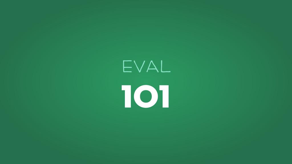 101 EVAl