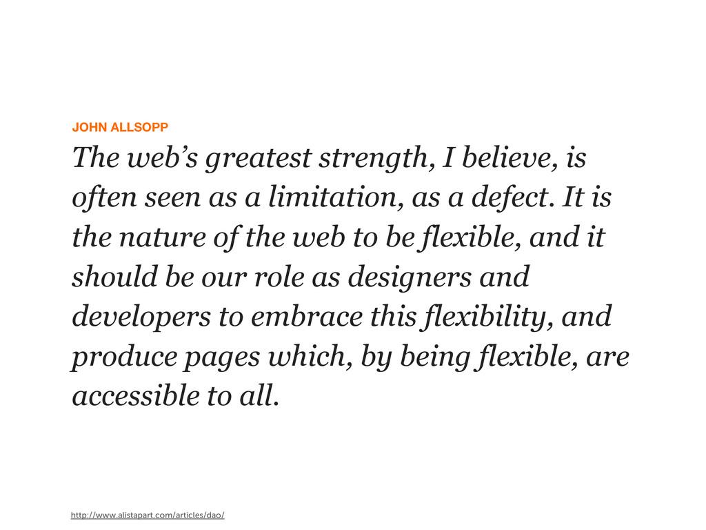 JOHN ALLSOPP http://www.alistapart.com/articles...