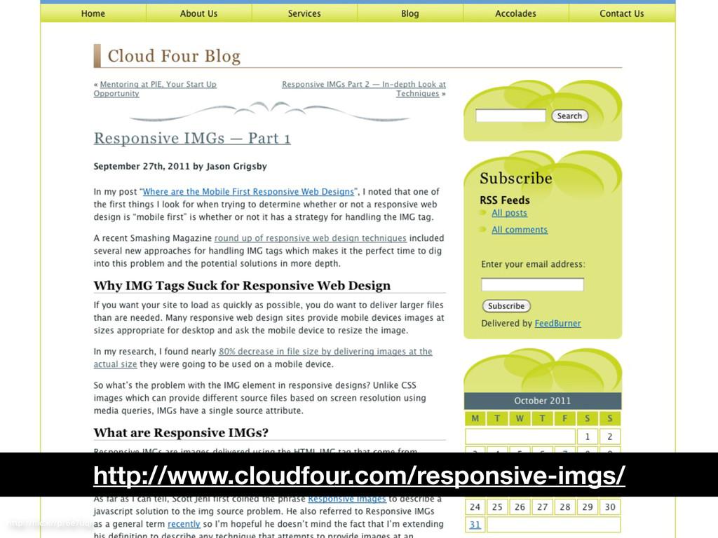 http://flic.kr/p/6e7uqr http://www.cloudfour.com...