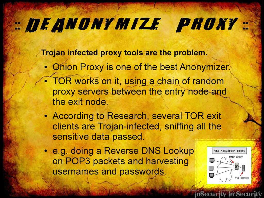 :: DeAnonymize Proxy :: Trojan infected proxy t...