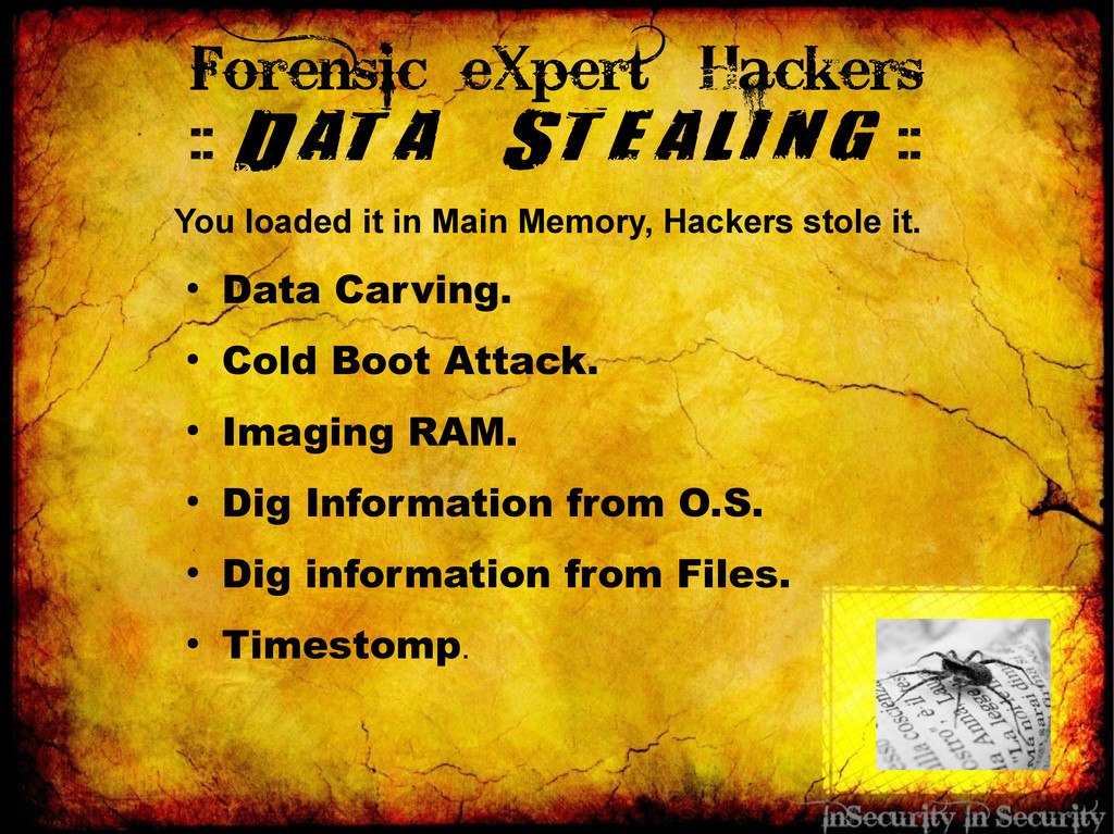 Forensic eXpert Hackers :: Data Stealing :: You...