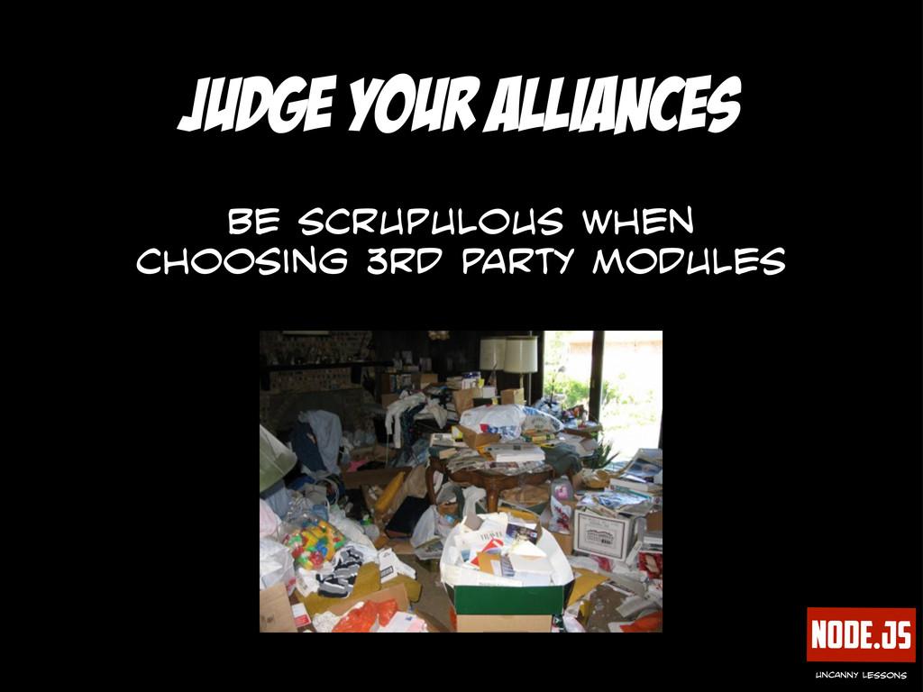Node.js uncanny lessons judge your alliances be...