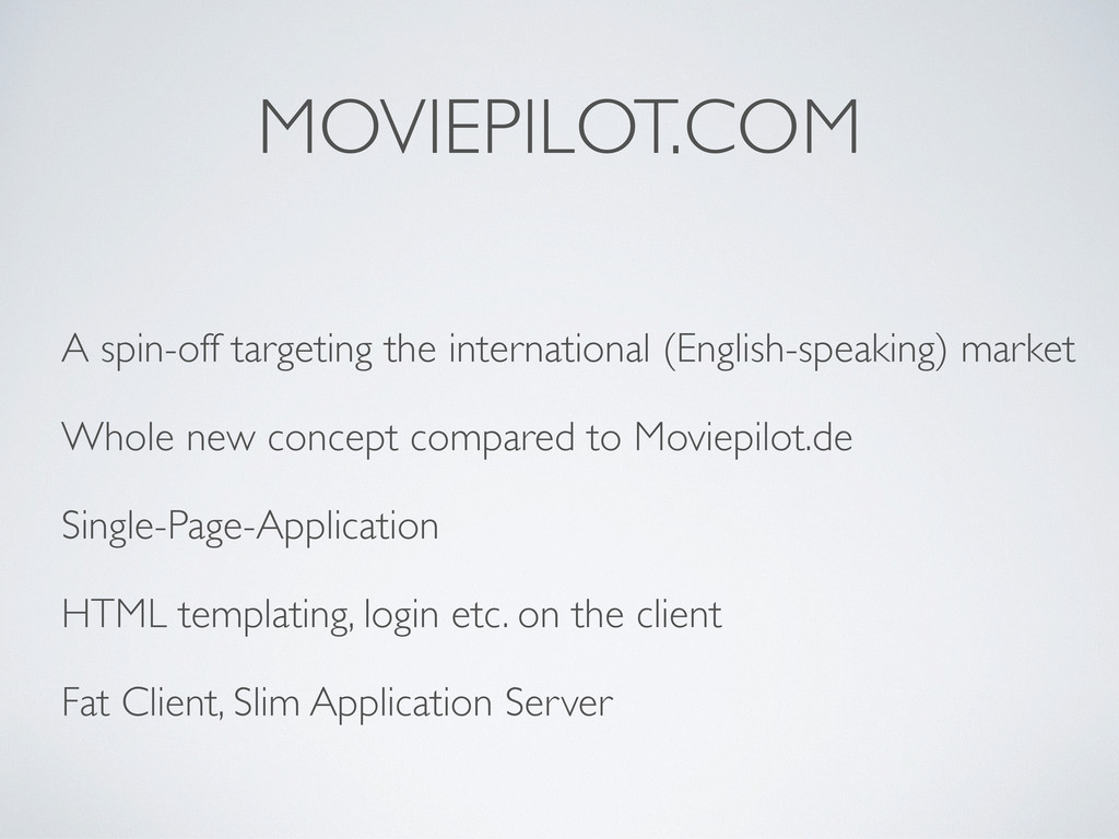 MOVIEPILOT.COM A spin-off targeting the interna...