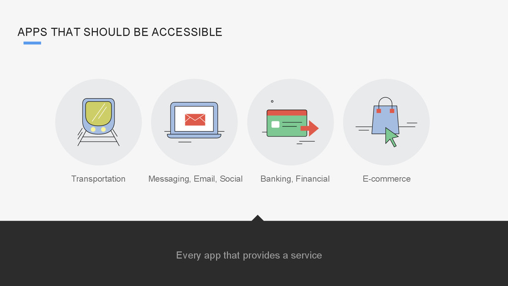 Every app that provides a service Transportatio...