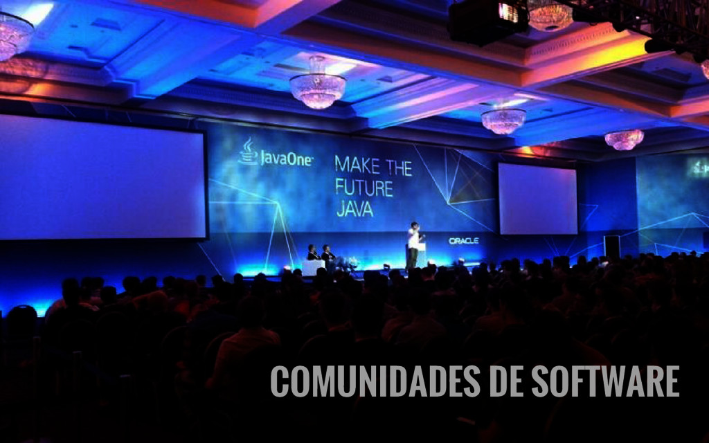 COMUNIDADES DE SOFTWARE