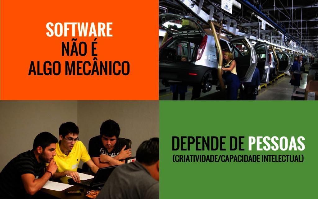 DEPENDE DE PESSOAS (CRIATIVIDADE/CAPACIDADE INT...