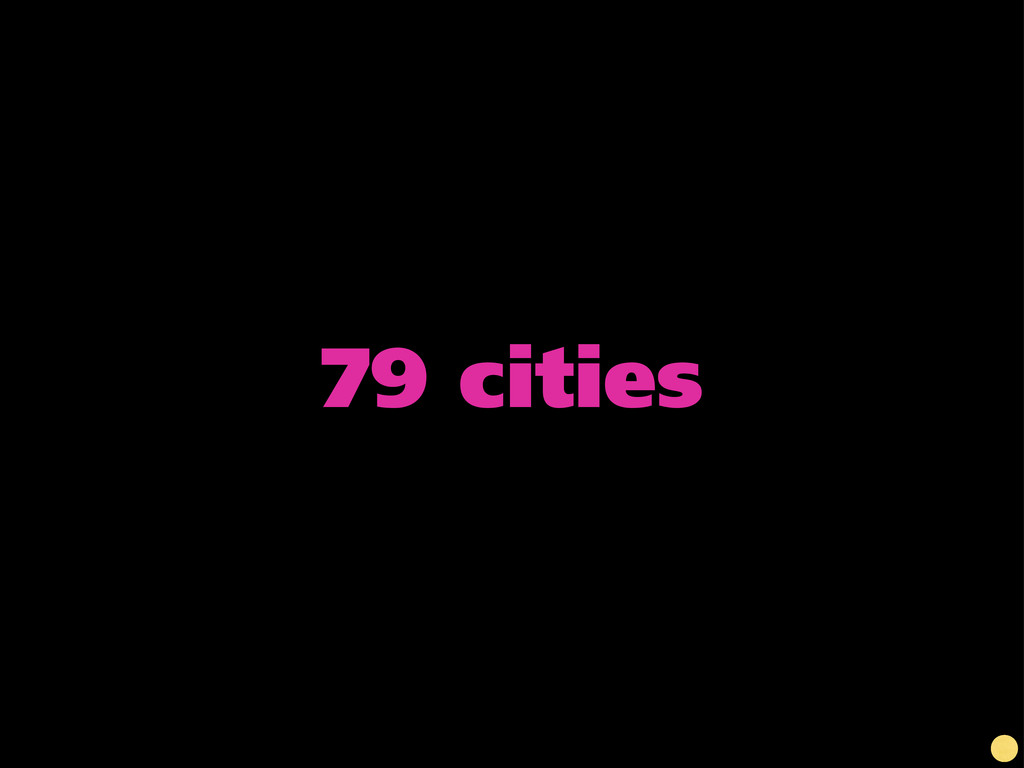 79 cities