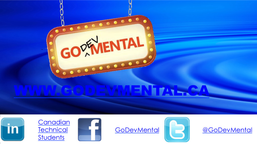 @GoDevMental GoDevMental Canadian Technical Stu...