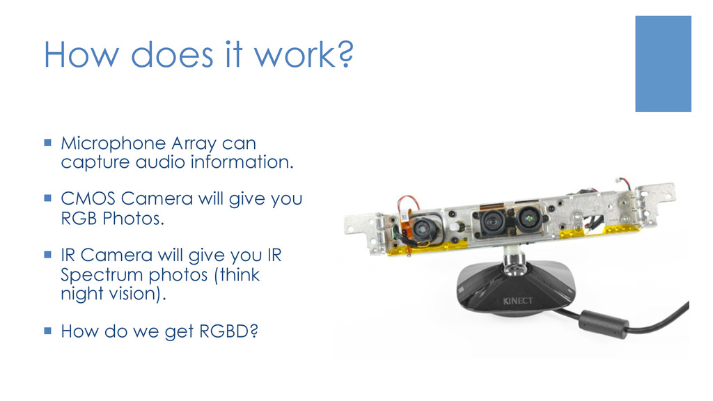 How does it work? ¡  Microphone Array can capt...