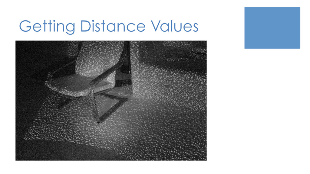 Getting Distance Values