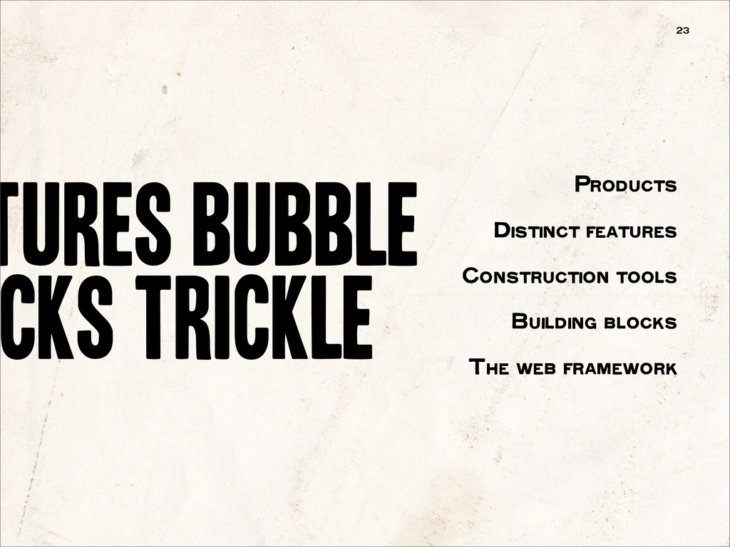 tures bubble cks trickle 23 Products Distinct f...