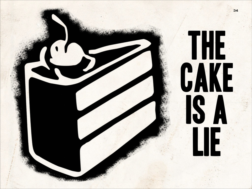 the cake is a lie 34