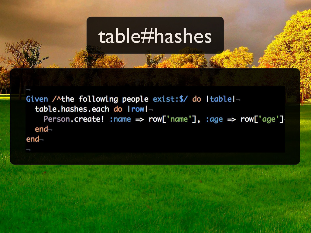 table#hashes