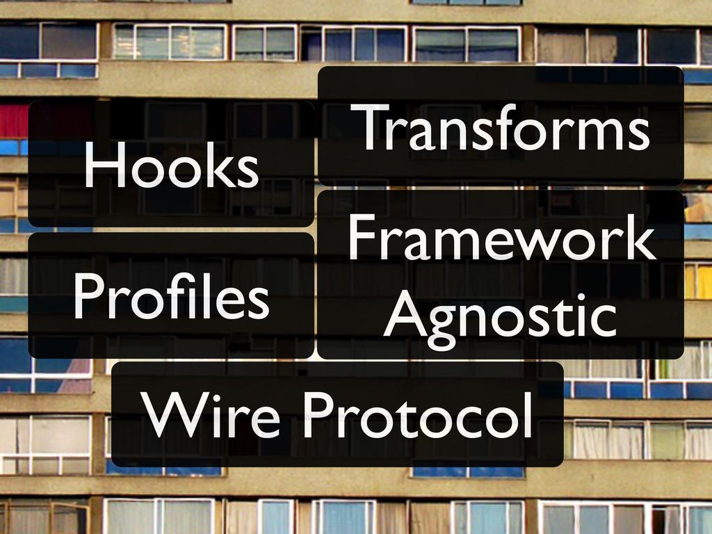 Hooks Transforms Framework Agnostic Wire Protoc...