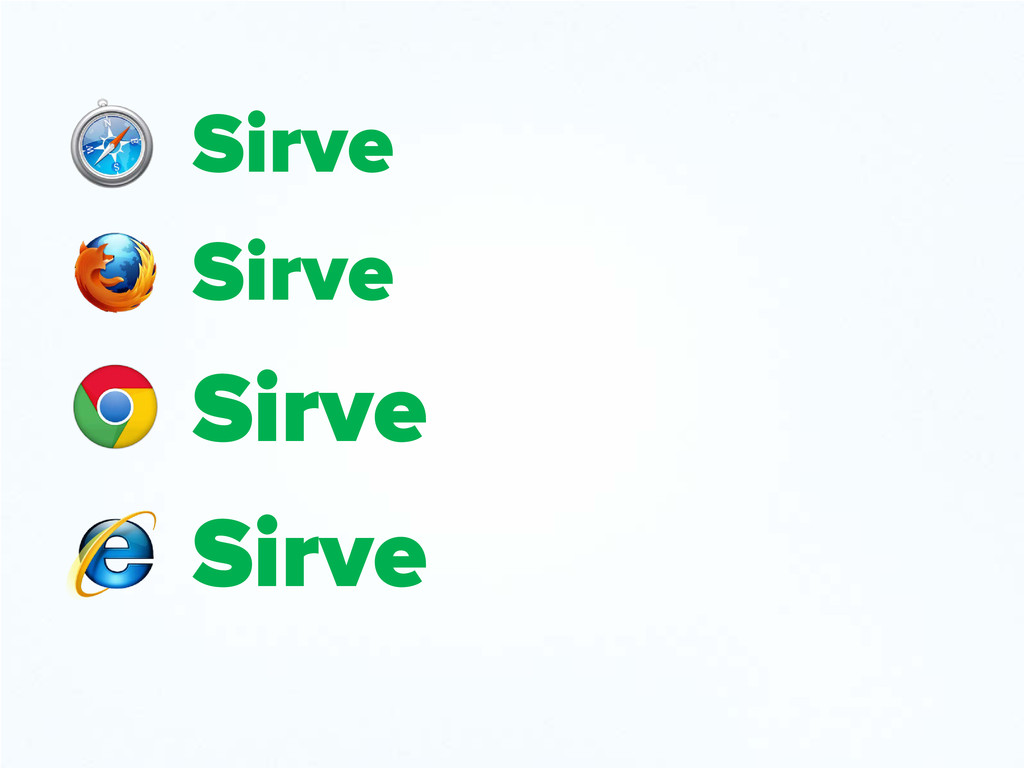Sirve Sirve Sirve Sirve