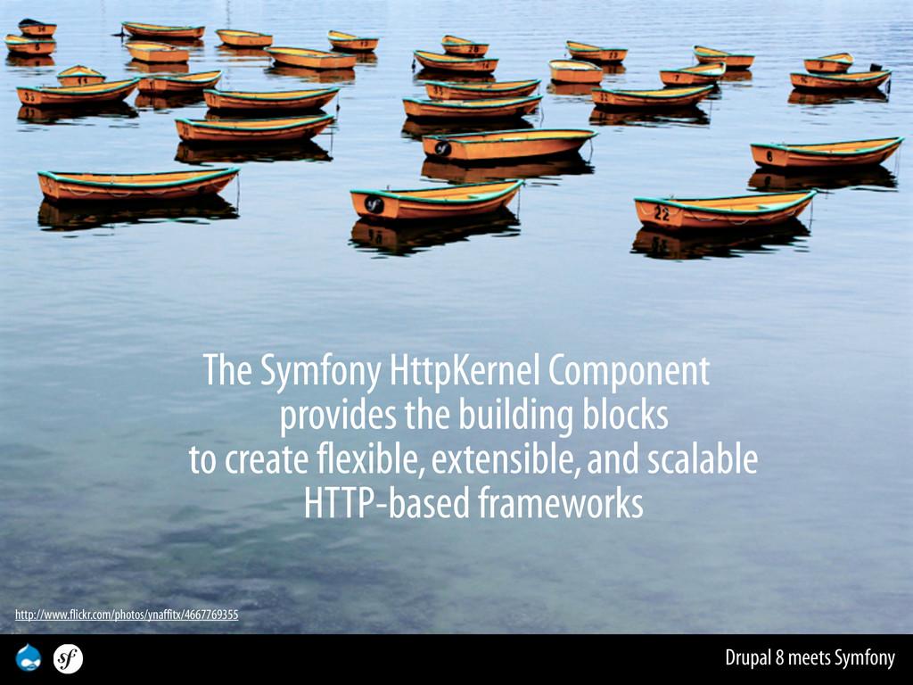 Drupal 8 meets Symfony The Symfony HttpKernel C...