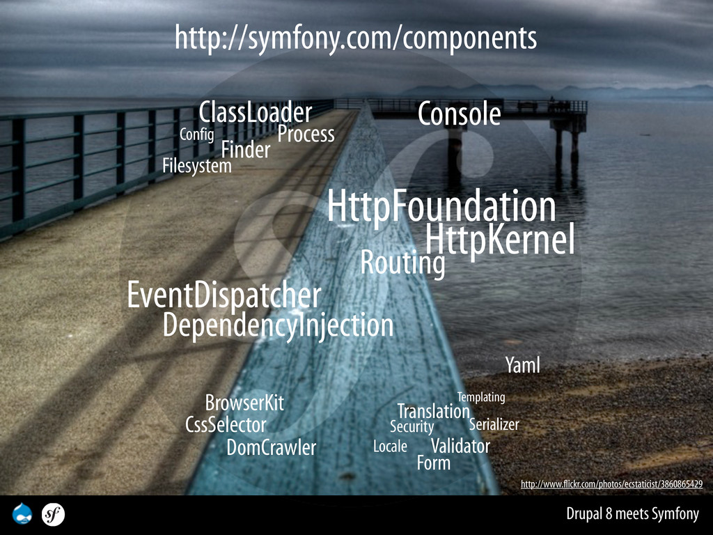 Drupal 8 meets Symfony DependencyInjection Even...