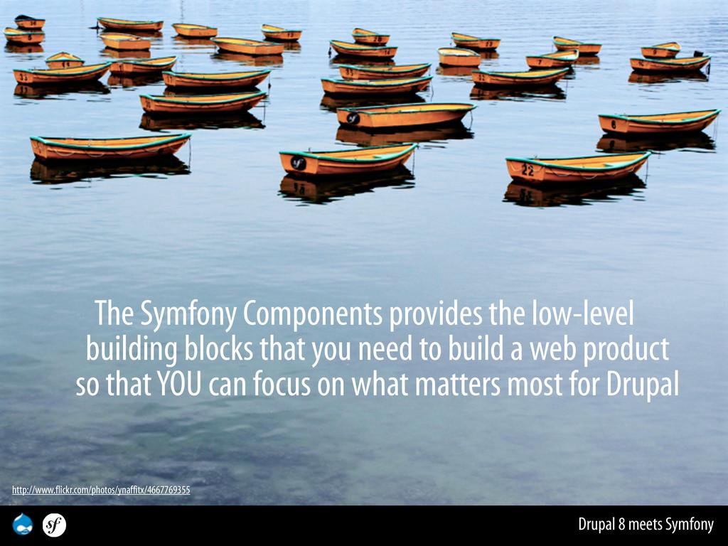 Drupal 8 meets Symfony The Symfony Components p...