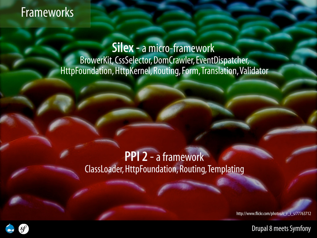 Drupal 8 meets Symfony Silex - a micro-framewor...