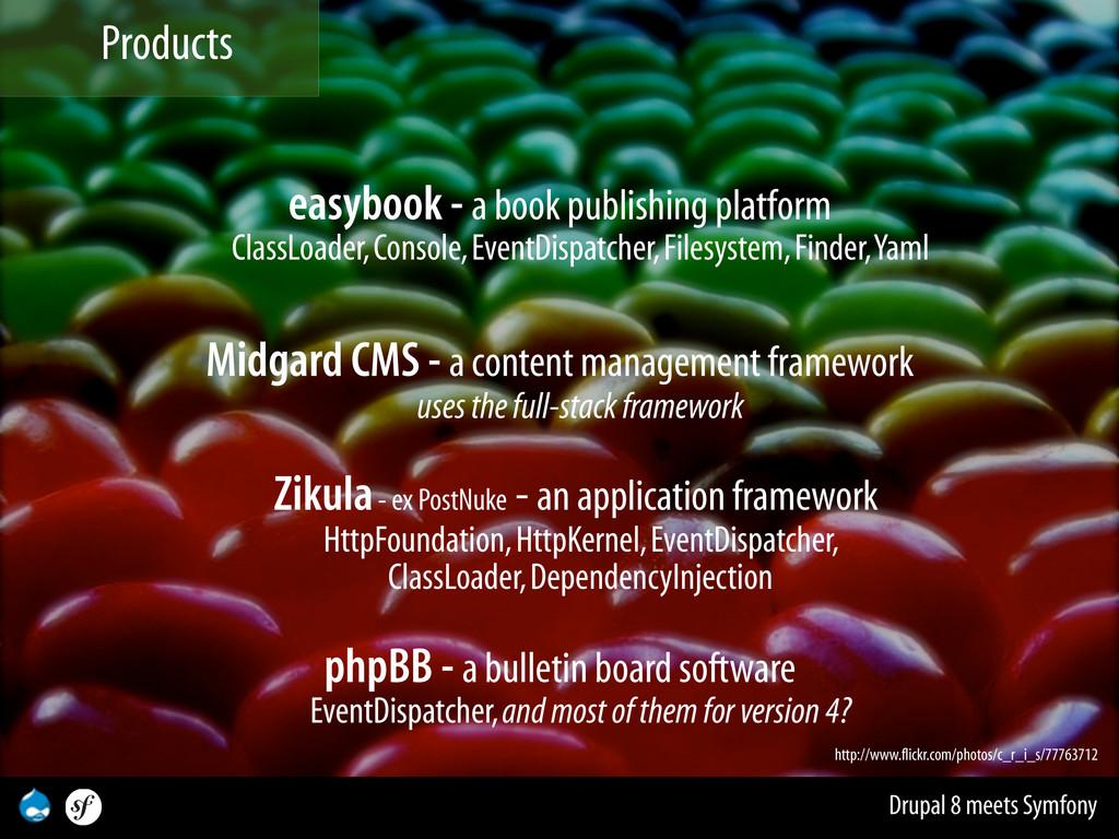 Drupal 8 meets Symfony easybook - a book publis...