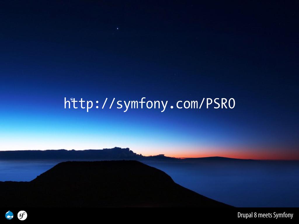 Drupal 8 meets Symfony http://symfony.com/PSR0